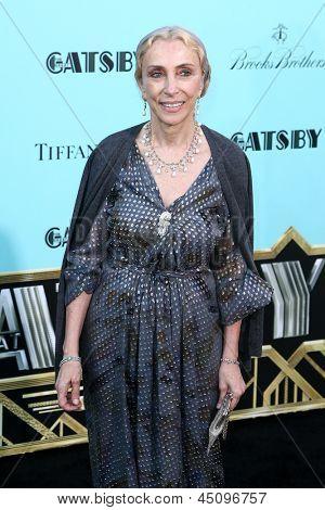 NEW YORK-NOV 18: Journalist and editor-in-chief Franca Sozzani attends the premiere of