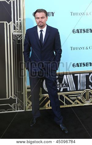 NEW YORK-NOV 18: Actor Leonardo DiCaprio attends the premiere of