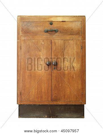 Armário de madeira vintage