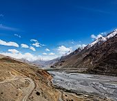 stock photo of himachal  - Travel Himalayas background  - JPG