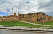 A View Of Forti De Sant Jordi In Tarragona, Spain, Fort Built In 1709 By The English Army Under The