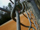 picture of chain link fence  - chain - JPG