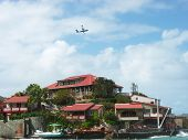 The beautiful Eden Rock hotel at St Barth, French West Indies