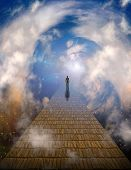 image of leaving  - Path to light - JPG