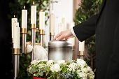 image of funeral  - Religion - JPG