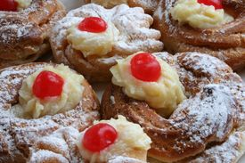 stock photo of doughy  - zeppoli - JPG