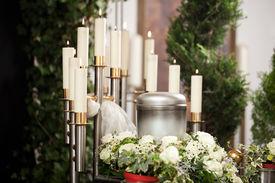 pic of urn funeral  - Religion - JPG