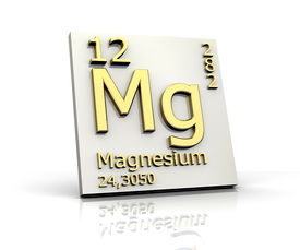 image of periodic table elements  - Magnesium form Periodic Table of Elements  - JPG