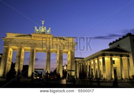 Brandenburg Gate- Berlin, Germany