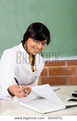 Female Indian Teacher