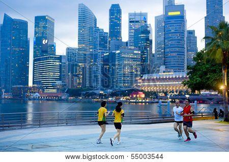 Jogging Singapur