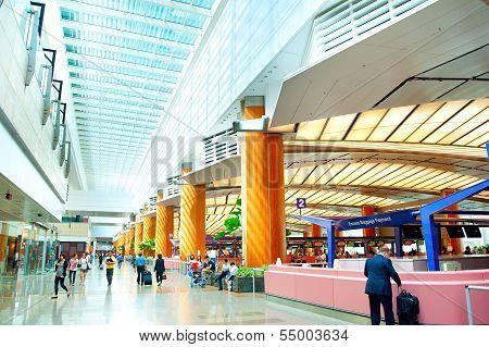 Airport Interior, Singapore