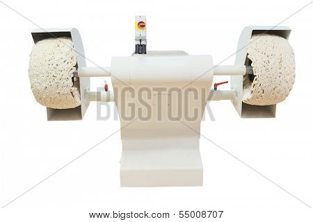 sanding machine isolated under the white background