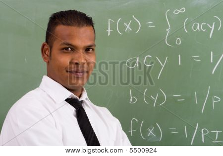 Male teacher