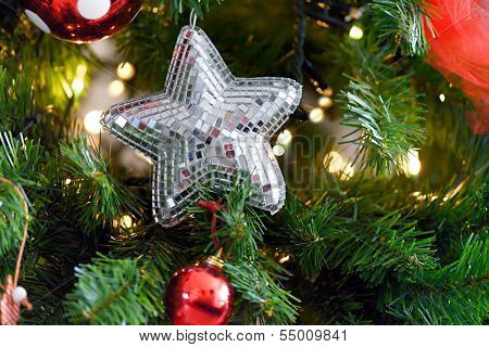 Spangled Christmas Star