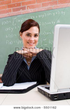 Professora linda