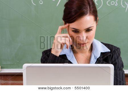 Hardworking Teacher