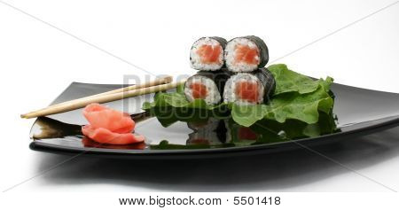 A Japanese roll