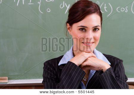 Elegant Maths Teacher