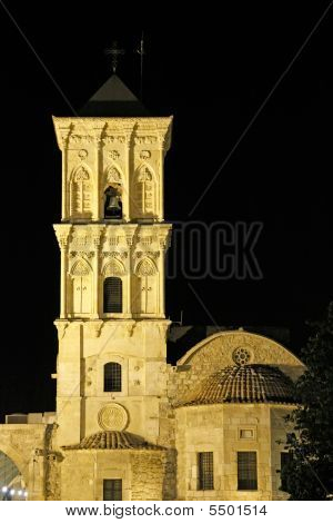 Saint Lazarus, Larnaca, At Night
