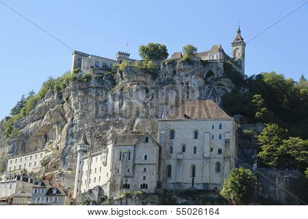 Episcopal city in Rocamadour, France