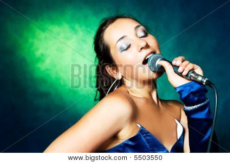 Sexy Singing Woman