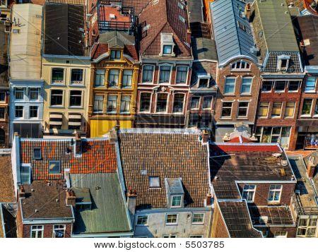 Utrecht City Areal View