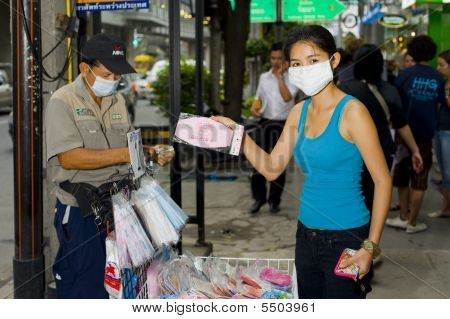Flu Mask Sales In Bangkok