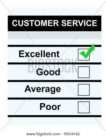 Excelente serviço ao cliente