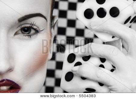 Black And White Woman