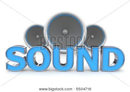 Speakers Sound - Blue