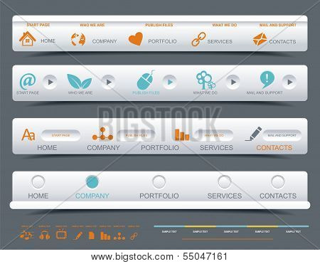 A Collection Of Web Panels