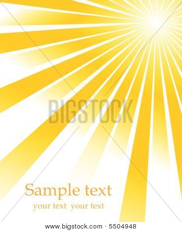 Sunburst Vector