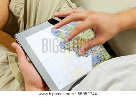 Using A  Digital Tablet