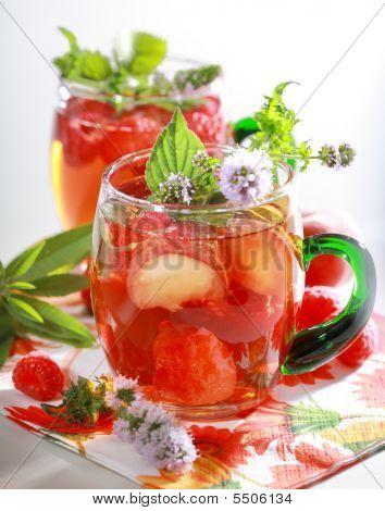Bebida refrescante de Verão