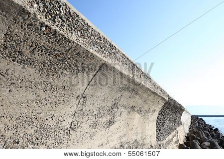 concrete breakwater