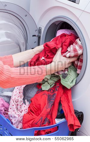 Preparing Washing