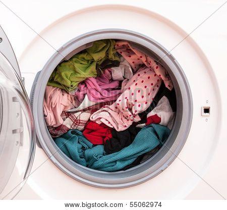 Laundry Before Washing
