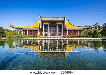 Sun Yat-Sen Memorial Hall in Taipei, Taiwan.