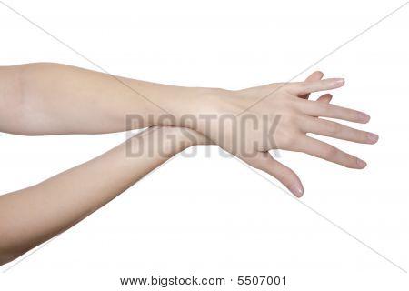 Stroking Hands