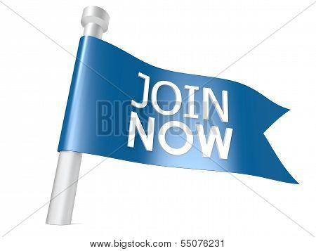Join now flag