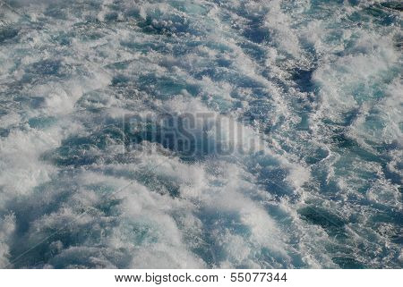 Wake At Sea