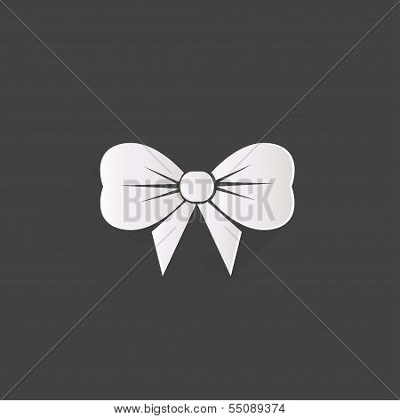 Gift, Christmas bow web icon