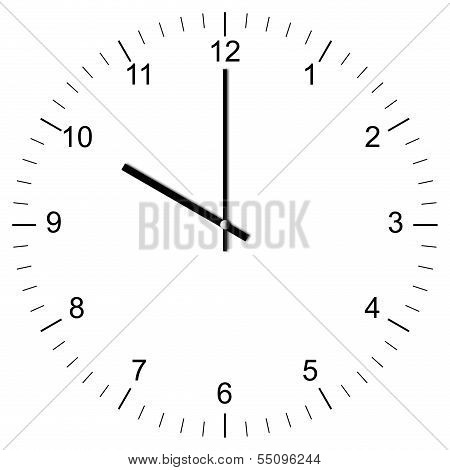Clock Illustration 10:00