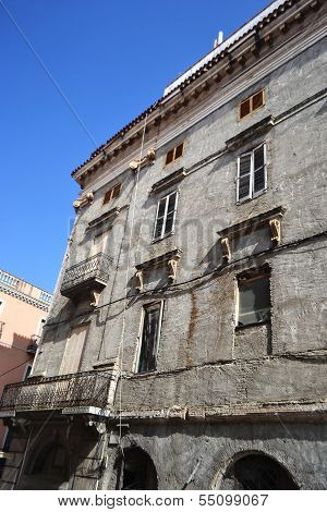 Old House In The Center Of Figueres