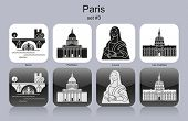 picture of mona lisa  - Landmarks of Paris - JPG