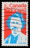 CANADA - CIRCA 1970: stamp printed by Canada, shows Louis Riel, circa 1970