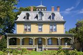 Built in 1877, this beautiful Victorian home, Beaconsfield Historic House is  in Charlottetown, Prin