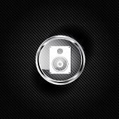 picture of subwoofer  - Subwoofer web icon - JPG