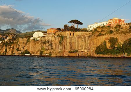 Sorrento coast view